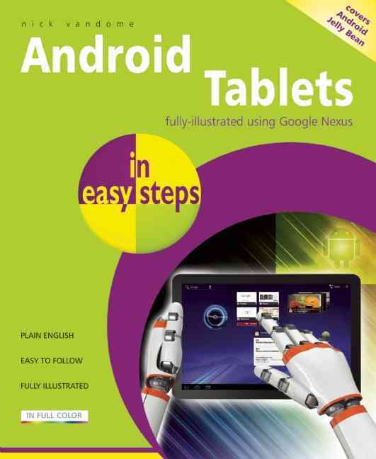 Android Tablets in Easy Steps By Vandome, Nick